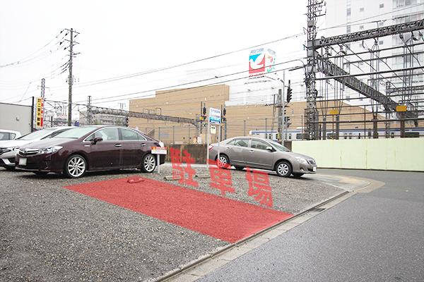 ステラ駐車場の駐車エリア